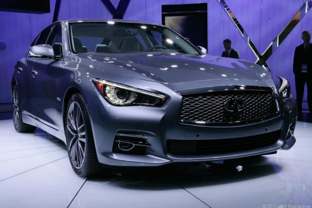 Infiniti q50. The new direction that Infiniti is going, to me, is a positive direction in the luxury market. We will have to see how the new Q pans out.