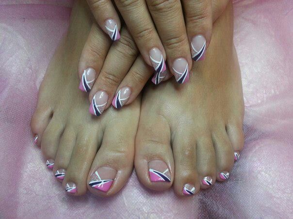 Abstract Fingers and Toes - 315 Best Nail Art- Abstract Images On Pinterest Nail Scissors