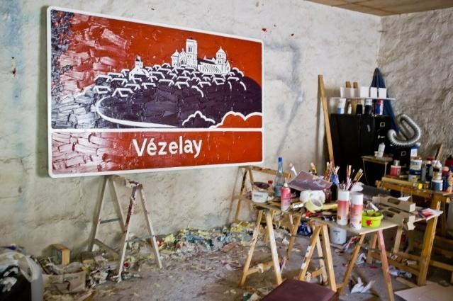 L'Atelier de Bertrand Lavier / France Inter