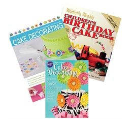 Buy cake decorating books from Cakedeco #Cakes #Books @ http://www.cakedeco.com.au/products/books/cake-decorating.aspx