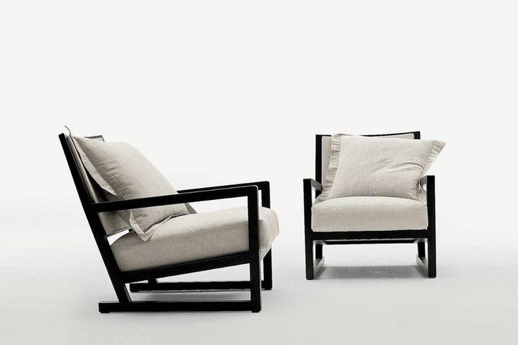 Clio Armchair By Antonio Citterio For Maxalto Space
