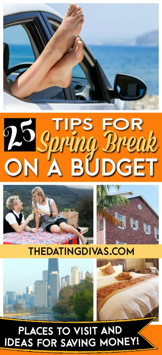 Spring Break on a budget? Yes, please!! www.TheDatingDivas.com