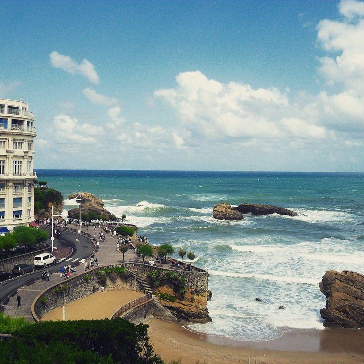 How beautiful is Biarritz! #france #travel #travelblog www.riamtheworld.net