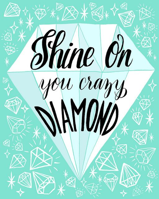 shine on you crazy diamond by knohe, via Flickr
