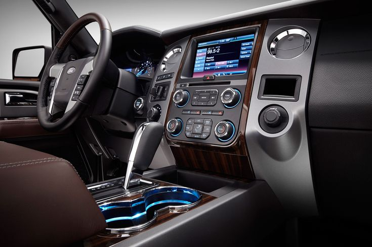 Ford Expedition SUV Inside | 2015 Ford Expedition Interior Center Stack