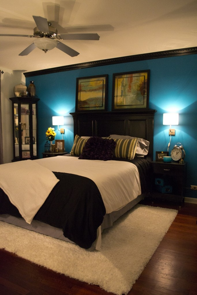 Contemporary Master Bedroom: Dreaming In Teal Part 81