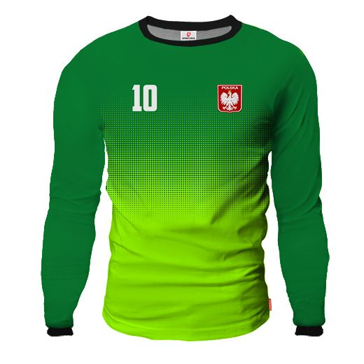 LIGA BARCELONA Goalkeeper Jersey With Custom Name And Number green & lime