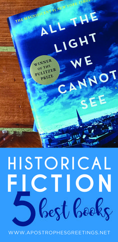 The 5 best Historical Fiction books for your book club to read