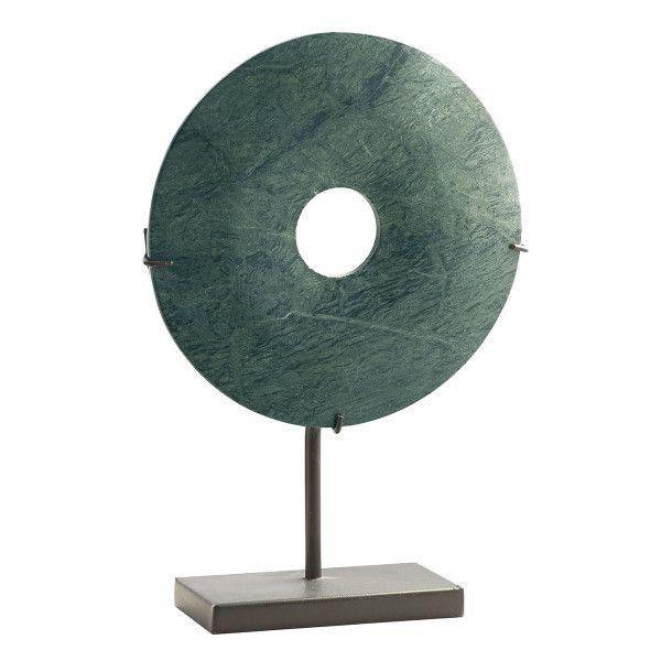 Marble Medallion Sculpture – Green