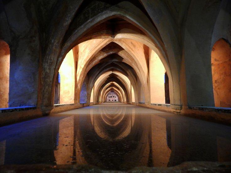 Real Alzacar de Sevilla, baños de doña Maria de Padilla.