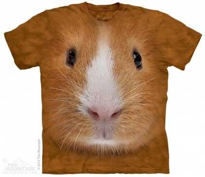 The Mountain Shirts Tiere The Mountain Shirt Meerschweinchen   Guinea Pigs  Face