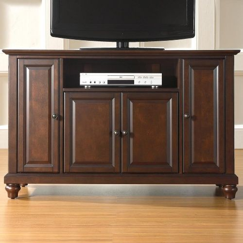 Crosley Cambridge 48 in. TV Stand - Vintage Mahogany - TV Stands at Hayneedle
