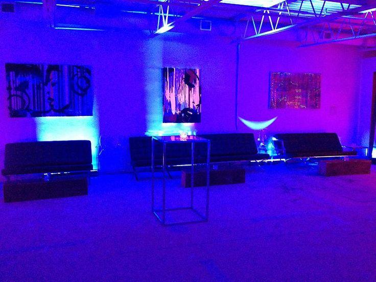 GotStyle Fashion Event Uplighting