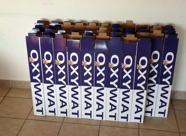Oxywat : during packaging
