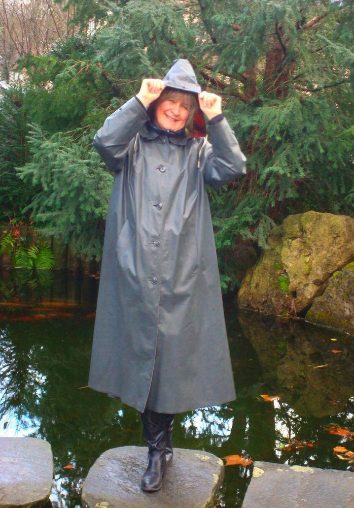 Kleppermantel Gummimantel Rubbercoat Raincoat Regenmantel Vintage Klepper