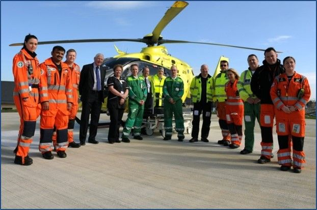 We are the only hospital in the Eastern region with an on-site helipad –  patients can be in the Emergency Department just 90 seconds after landing.