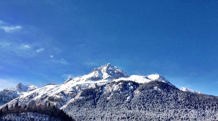 Mountain view from Andalo in Italy