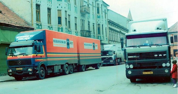 https://flic.kr/p/aHrfHr | M. Hannink B.V., Holland | company: M. Hannink B.V.;  tractor: Mercedes 2233; plate: BV-43-LS; location: Oradea (RO)