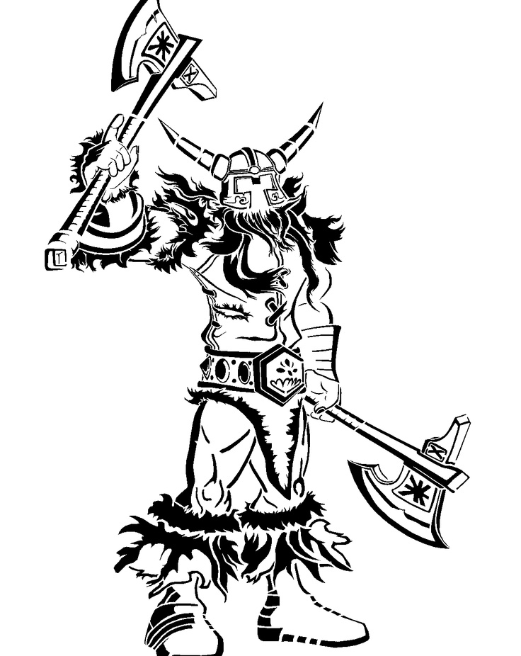 Warrior Stencil Template Stencil Templates Pinterest