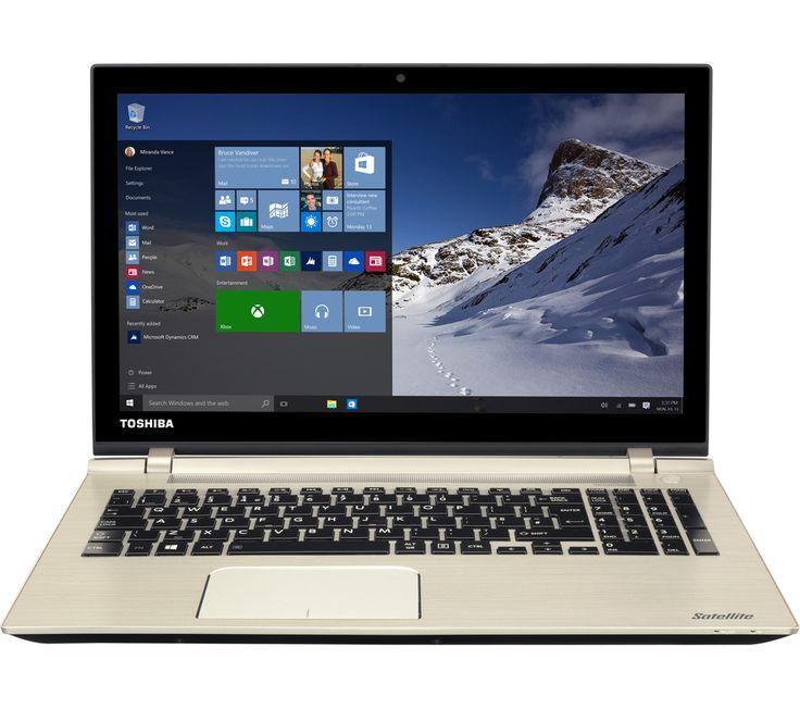 Toshiba Satellite P50-C-18K 15.6 Laptop - Brushed Metal