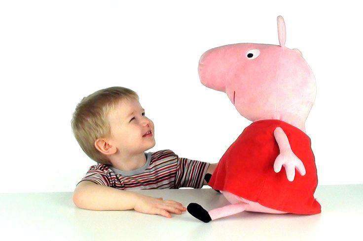 Свинка Пеппа принесла сюрприз шоколадные монеты  Peppa Pig surprise toys...