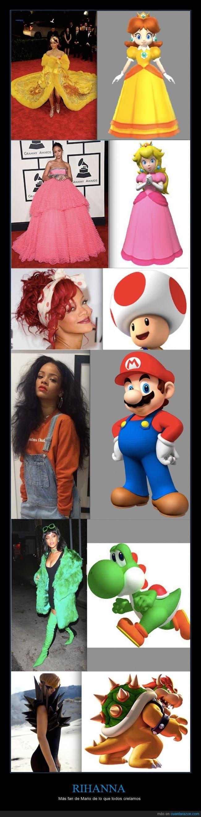 ¿Es Rihanna la más gamer? :O