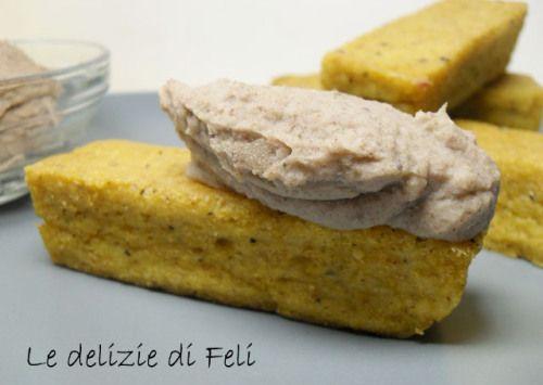 Polenta aromatica con mousse di fagioli   Le delizie di Feli