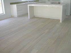 White Lime Wash 1 Coat On European Oak Wide Board