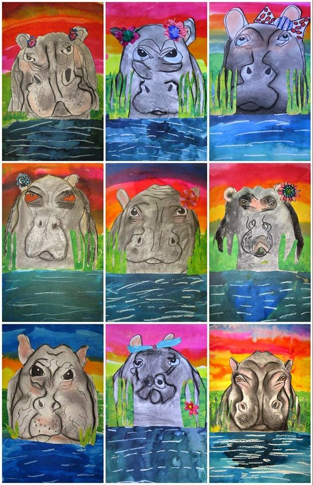 MaryMaking: Hip Hippo-Ray