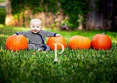Pumpkin patch kids photo