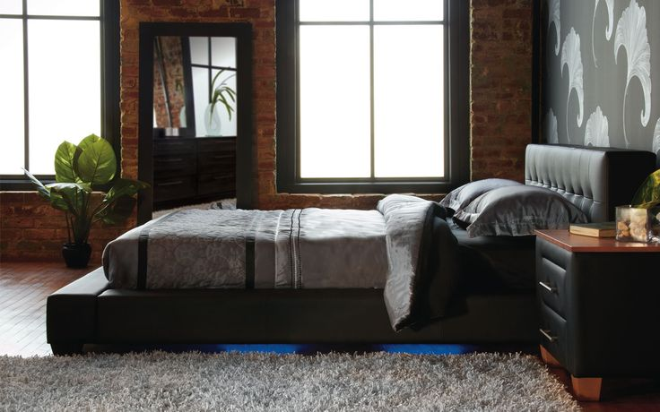 Queen bed Melody - Contemporary Style - Jaymar Collection