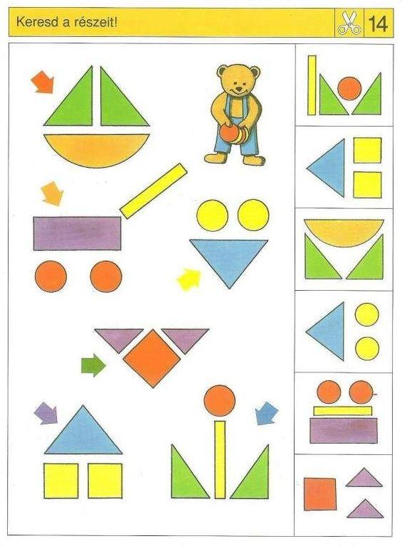 Piccolo: schaar kaart 14