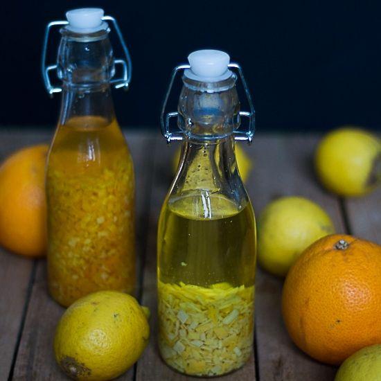Domowy ekstrakt pomarańczowy i cytrynowy