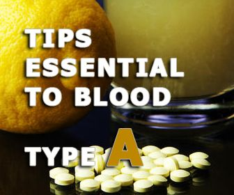The blood type A diet lacks certain vitamins and minerals especially those in the meat and vegetables and fruits which are not ava