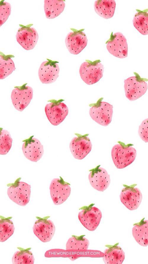 iPhone 5,6 Wallpaper - strawberry