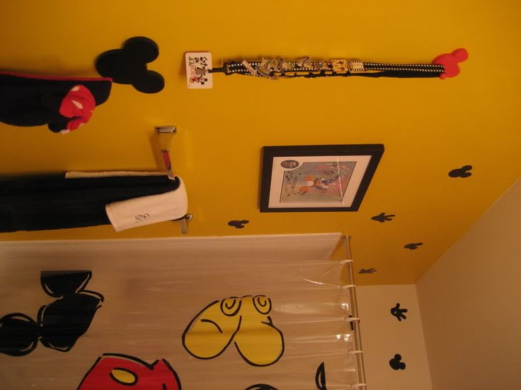 8 Best Images About Mickey Mouse Bathroom On Pinterest