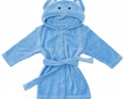 Bathing Bunnies Elephant Baby Towelling Robe - available at Wauwaa http://bit.ly/1nLJo8U #AutumnDays @wauwaauk