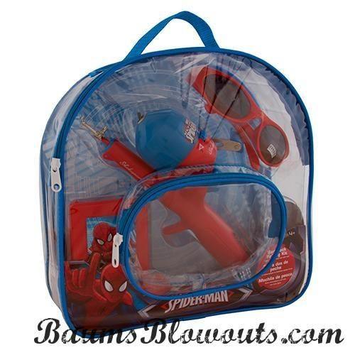 Youth Fishing Kits Spiderman, Backpack