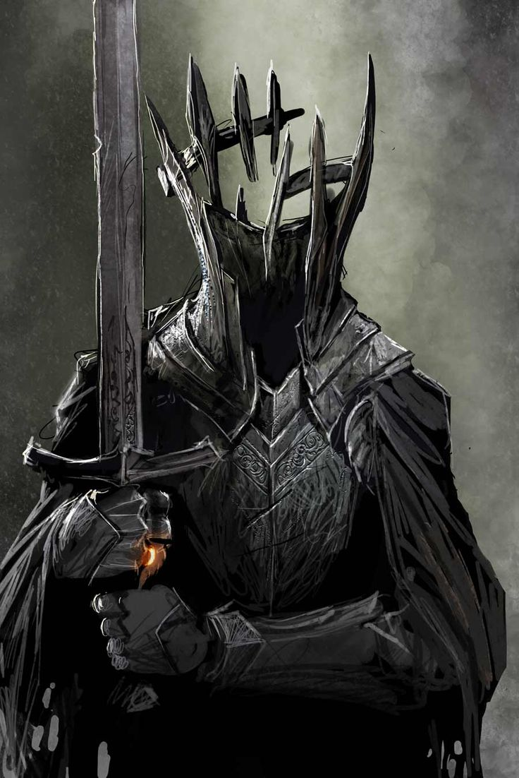 angmar.. or... testing some brushes by *nebezial on deviantART The Witch King of Angmar