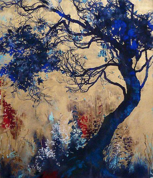 Henrik Simonsen Голубое дерево