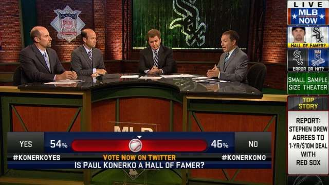 MLB Now: Hall of Fame or Bust? Does Paul Konerko get in???