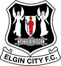 1893, Elgin City F.C. (Scotland) #ElginCityFC #Scotland (L17651)