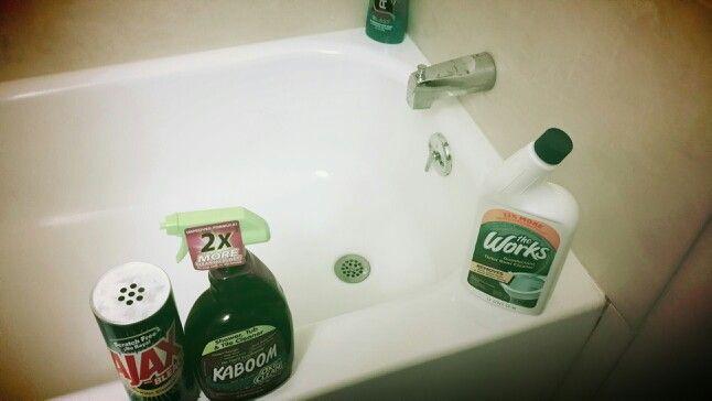 I Tried Everything To Get My Bathtub Clean Kaboom Ajax