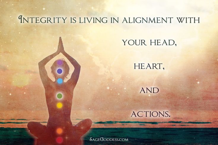 How do we maintain the integrity of the energy we offer to the world? It's not just a matter of knowing that allows integrity to rise and reign. We must feel it too. Feel it with our hearts, and create its essence within the world through our actions. What does integrity mean to you?