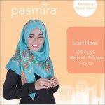 Hijab Segi Empat Floral Pasmira