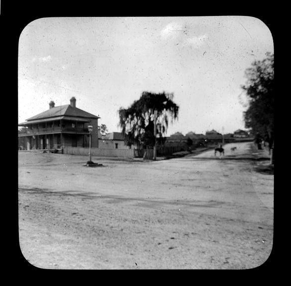 Arlington Hotel, Parramatta Road, Five Dock (near the corner of Great North Road), 1910. Royal Australian Historical Society
