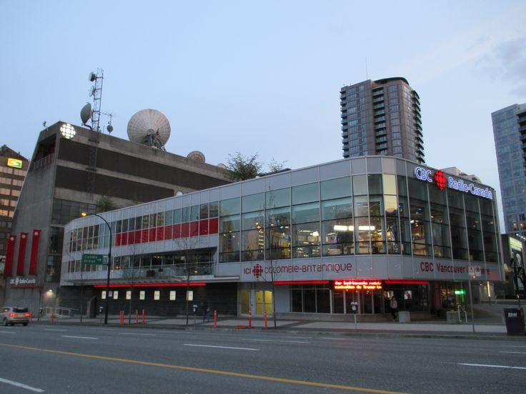CBC Radio-Canada station, Downtown, Vancouver, BC, Canada