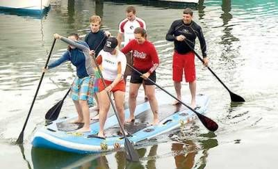 The Fish Alley Paddle Fest will include standup paddleboard, surf ski, kayak and SUP-Squatch races.