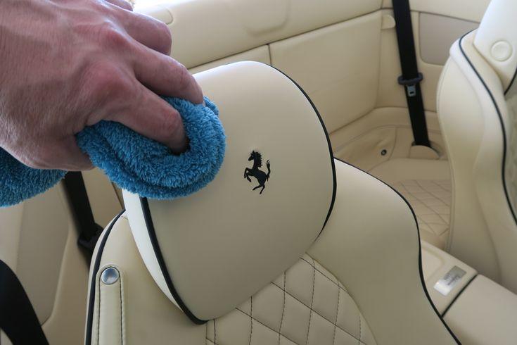 perfekte Lederaufbereitung und Schutz  .. www.avp-autopflege.ch