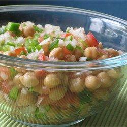 Mediterranean Chickpea Salad II - Allrecipes.com